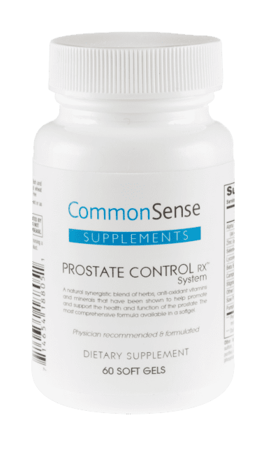 """common sense prostate control"""