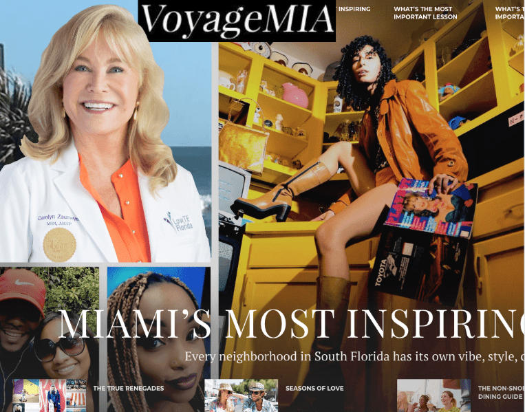 """Carolyn Zaumeyer of LowTE Florida in Fort Lauderdale Featured on VoyageMIA"""