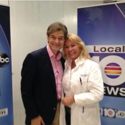 """Carolyn Zaumeyer with Doctor OZ Local 10 News"""
