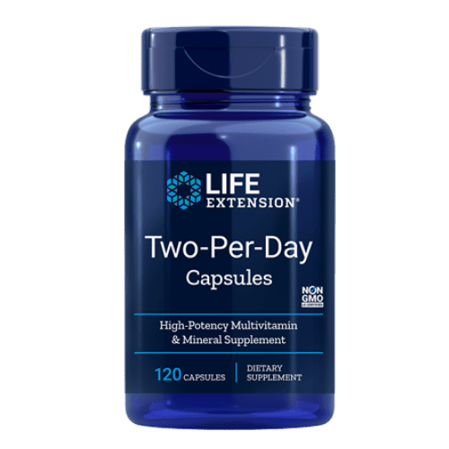 """two per day capsules life extension"""